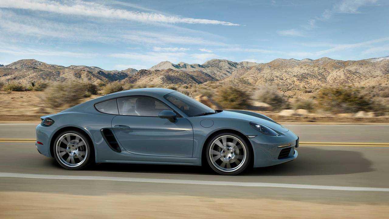 4. Sports Cars: Porsche 718 Cayman
