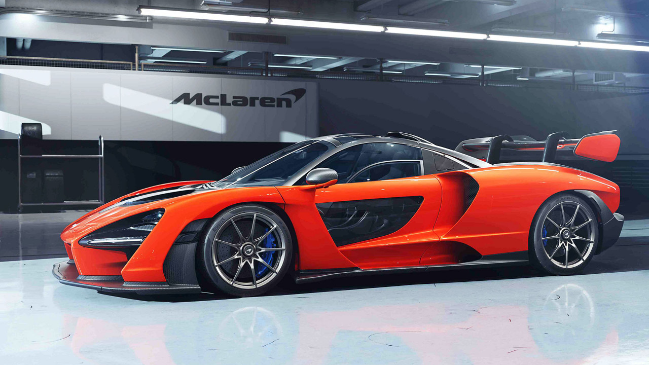 McLaren Senna: ca. 1,62 Kilo pro PS