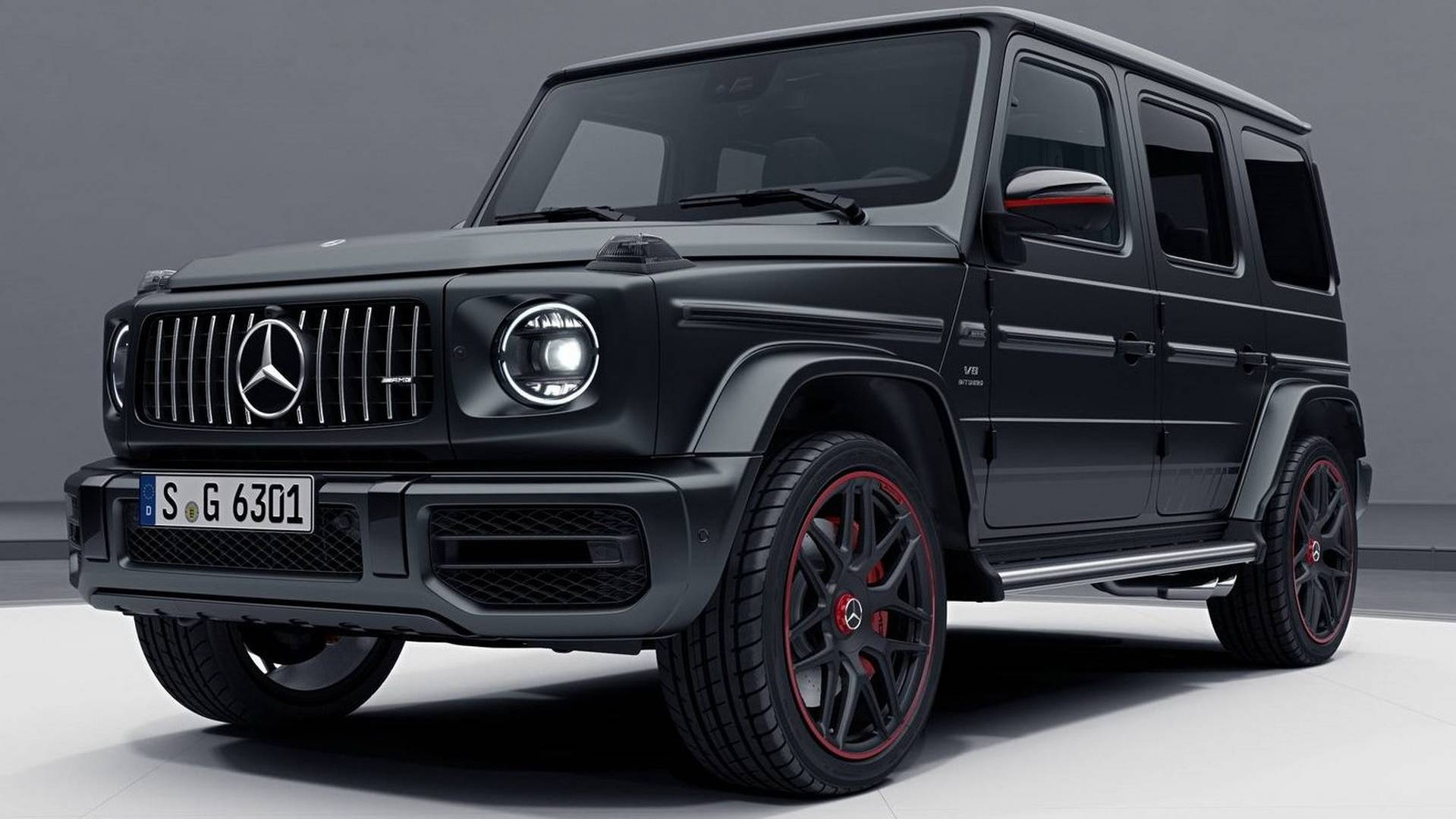 Mercedes AMG G63 Edition 1 Could Be The Perfect Getaway Car