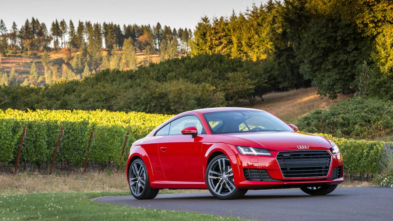 12. Luxury Sports Car: Audi TT.