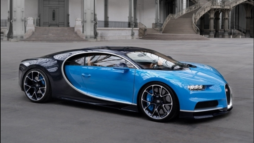Bugatti, bis di supercar alla Monterey Car Week 2016