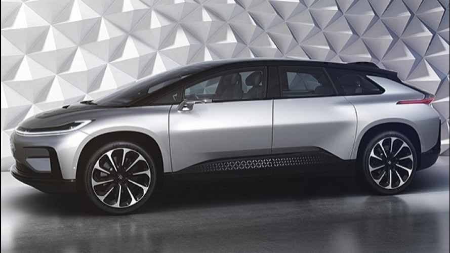 Faraday Future FF 91, l'anti Tesla è un gigante da 1.064 CV [VIDEO]