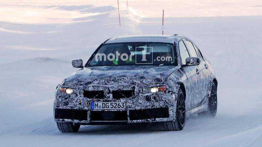La future BMW M3 fait une seconde apparition