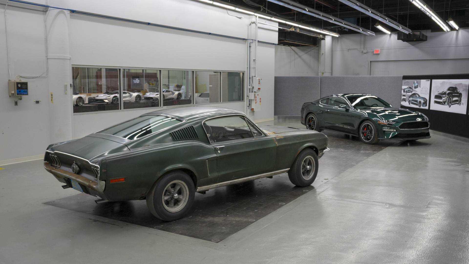 Ford mustang bullitt retrospective makes us green with envy