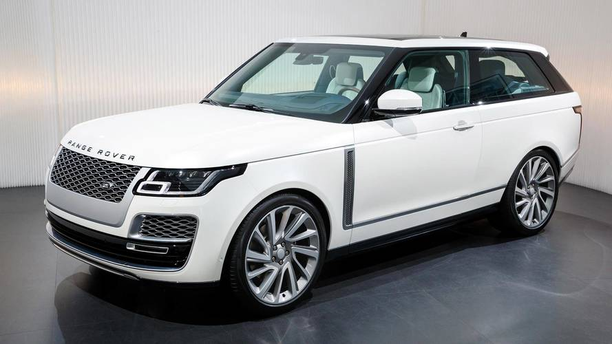 Range Rover SV Coupe Not Going Into Production After All