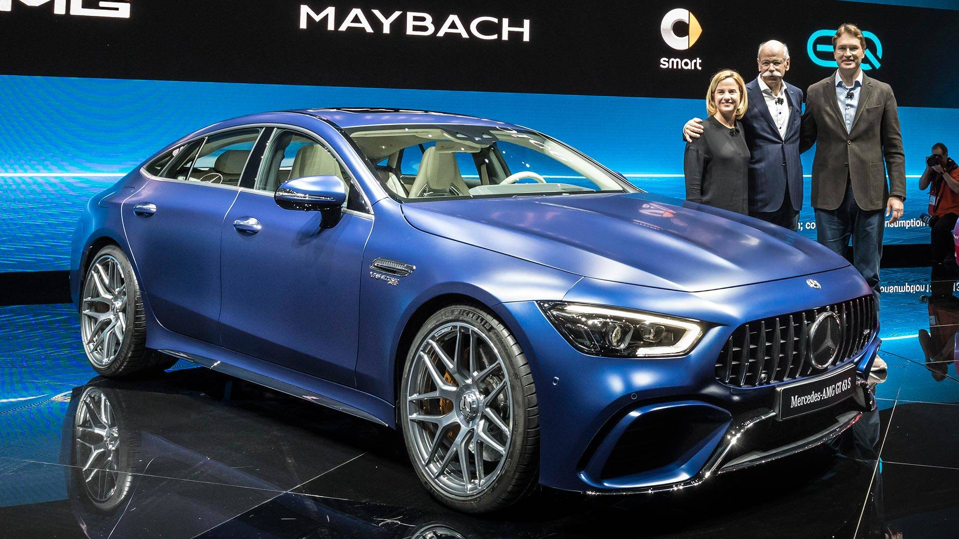 2019 Mercedes Amg Gt 4 Door Coupe Storms Geneva With 630 Hp Go Back Pics For Electric Circuit Symbols