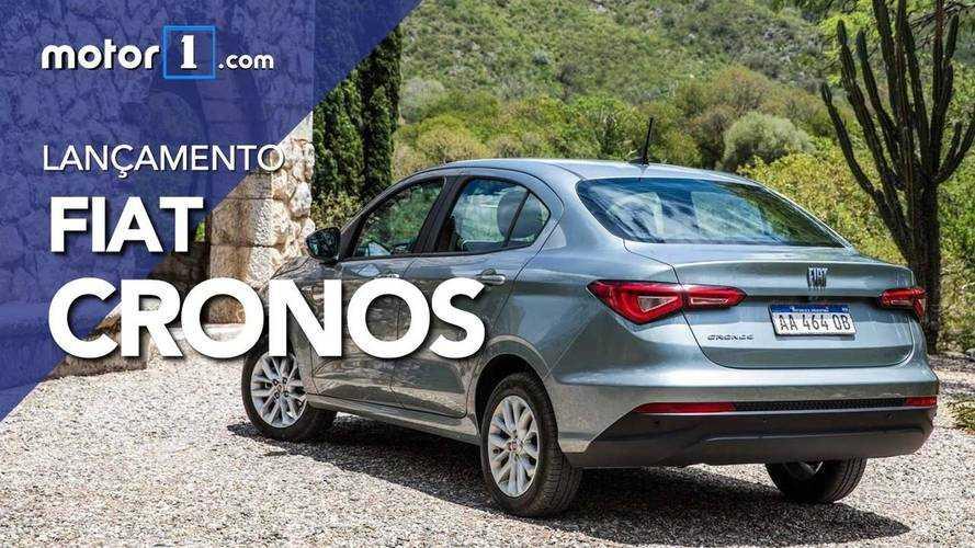 Vídeo - Veja os detalhes do Fiat Cronos Drive