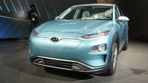 2019 Hyundai Kona Electric at 2018 New York Auto Show