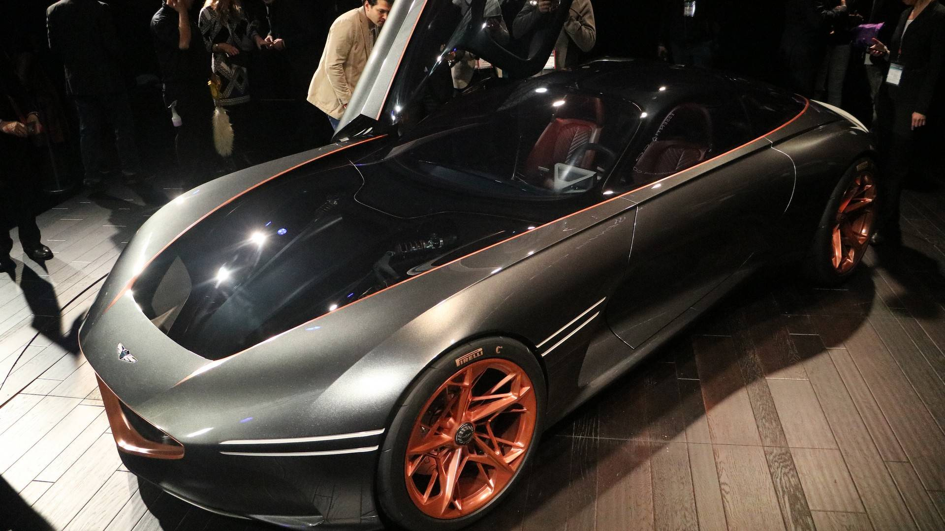Genesis Essentia Concept Electrifies NY With Its Gorgeous Body - Concept car show