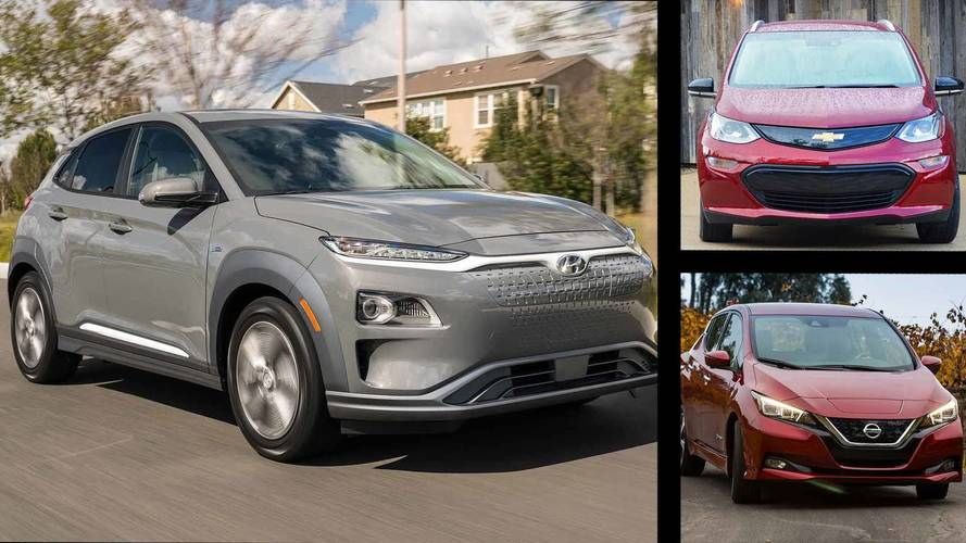 Comparing the Hyundai Kona Electric To The Chevy Bolt And Nissan Leaf