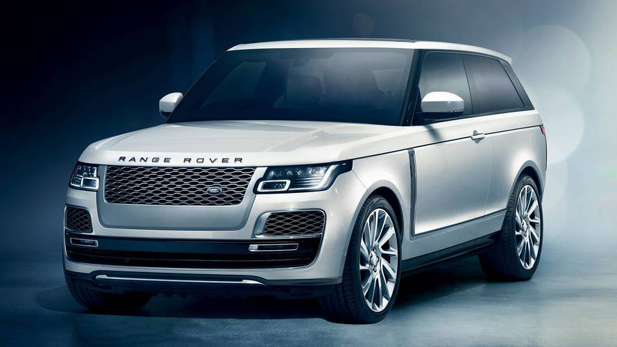 Range Rover Coupe axed before production starts