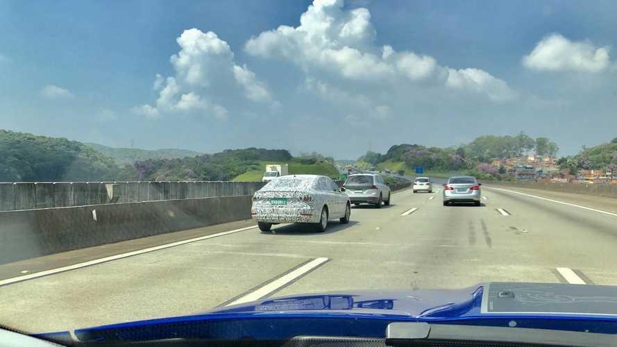 Flagra - Novo VW Jetta