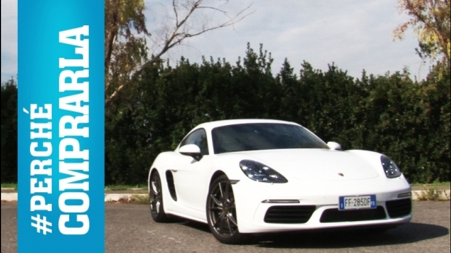 Porsche 718 Cayman, perché comprarla e... perché no [VIDEO]