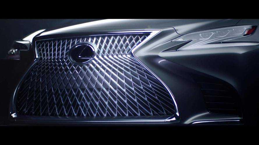 Lexus LS'nin ön ızgarasının geliştirilme sürecini izleyin