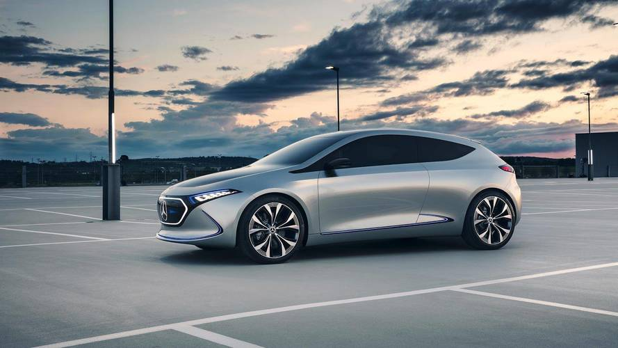 Mercedes va fabriquer sa compacte électrique en France