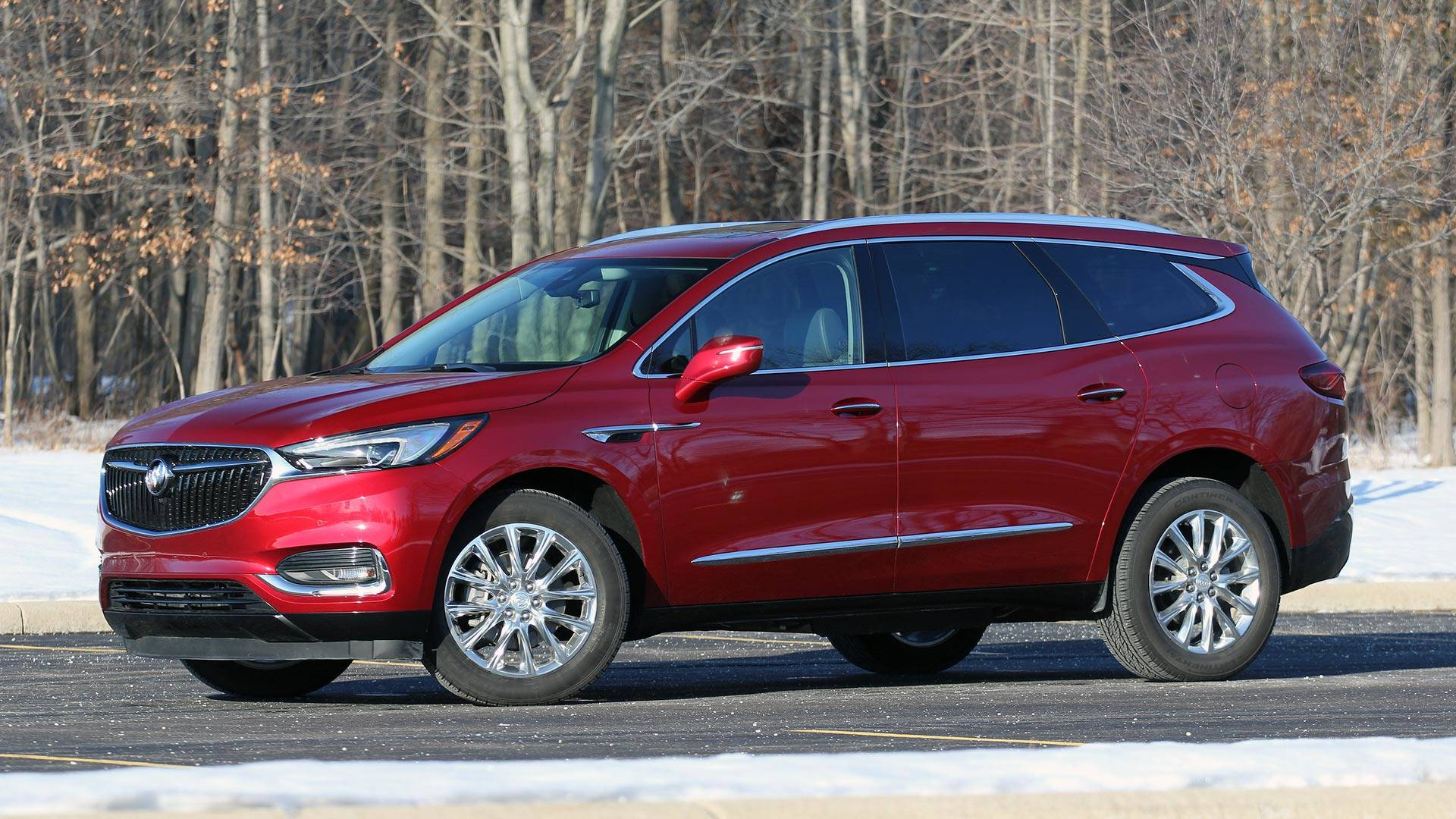 Buick Enclave Seating Capacity >> 2018 Buick Enclave Review Tasteful Luxury