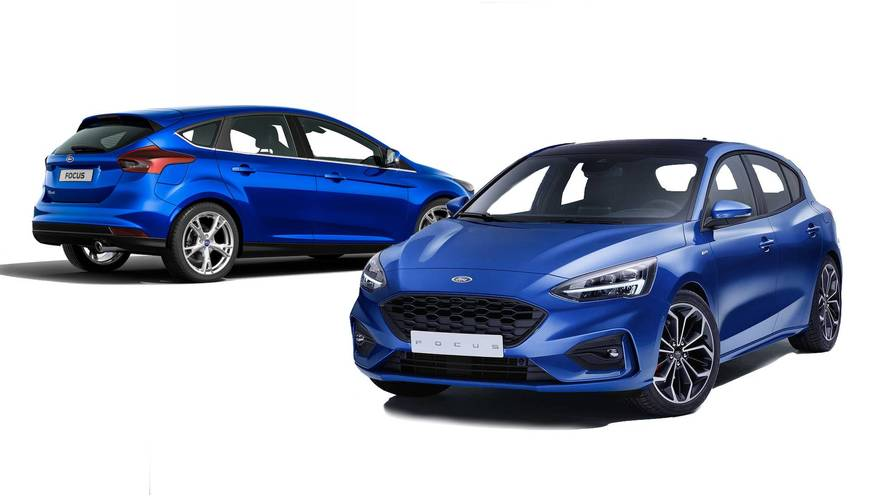 PHOTOS - La nouvelle Ford Focus face à l'ancienne