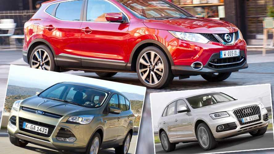 Top 10: Die SUV-Bestseller des Gebrauchtmarkts