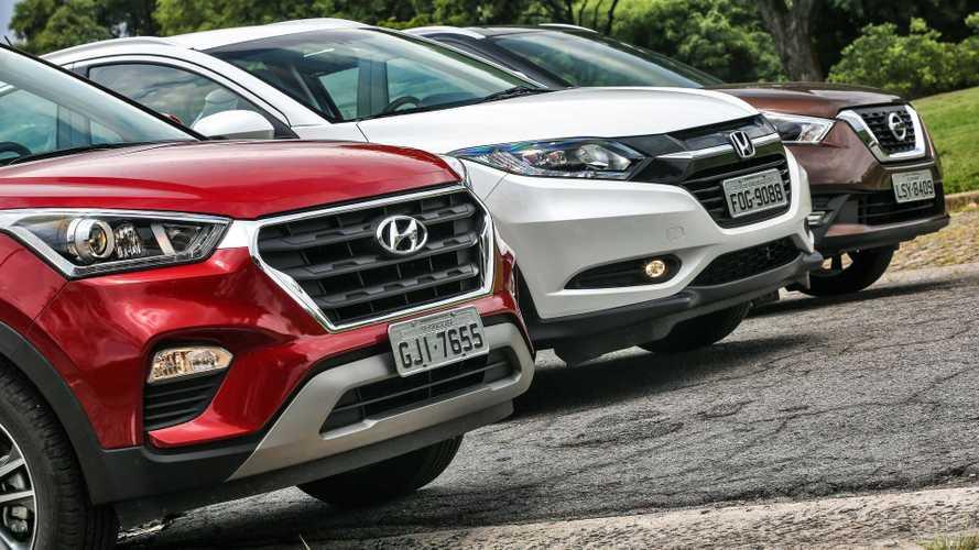 SUVs batem recorde e já são os carros mais financiados do Brasil