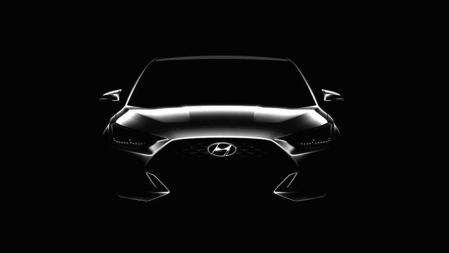 Next-Gen Hyundai Veloster Teaser
