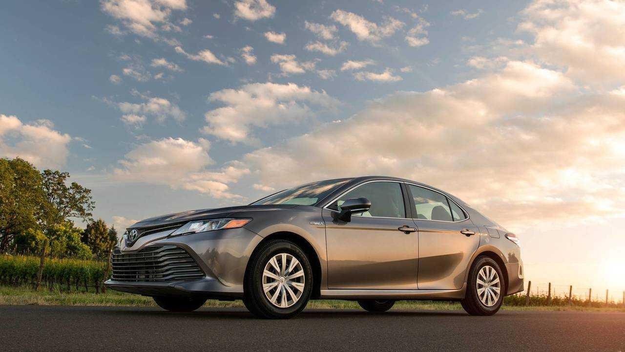 3. Toyota Camry Hybrid