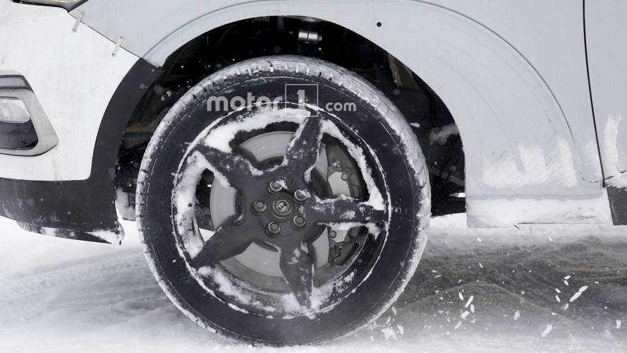 Genesis SUV test mule spy photo