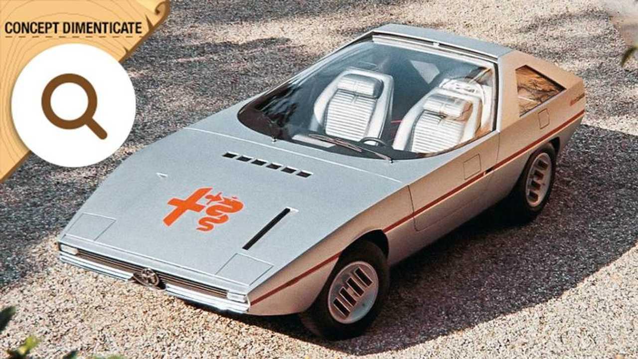 Alfa Romeo Alfasud Caimano, concept dimenticate