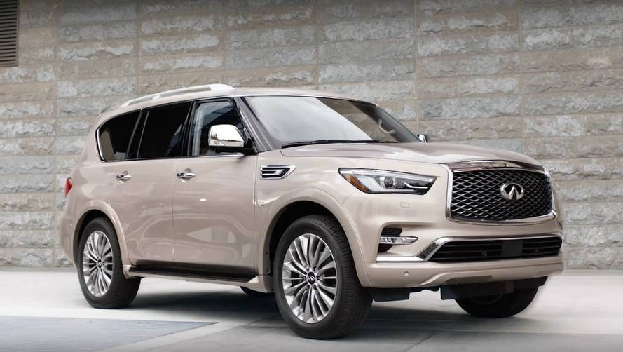 Infiniti Details What's Great About The 2018 QX80 On Video