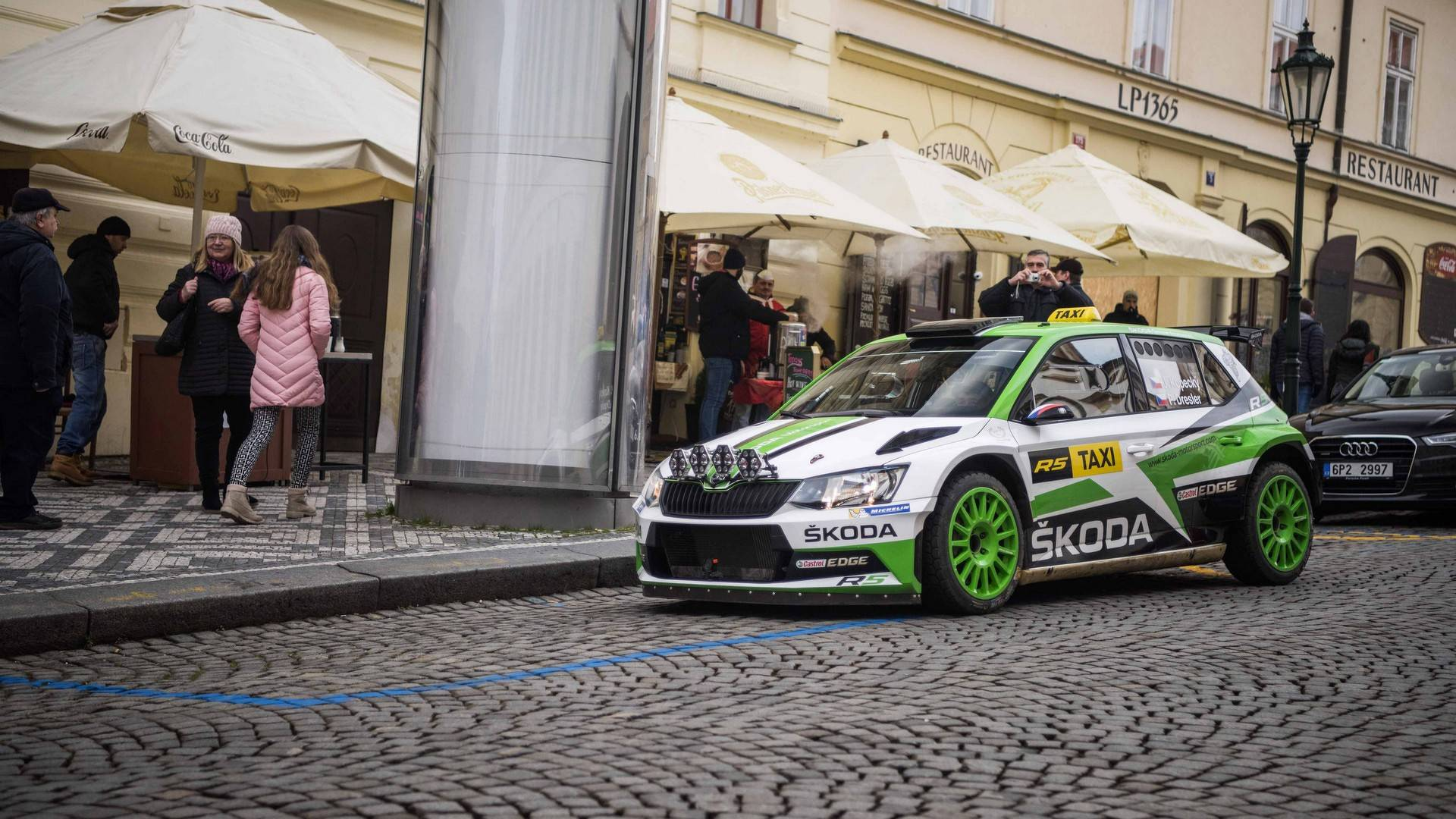 Skoda Fabia R5 Rally Car Takes A Second Job As A Taxi