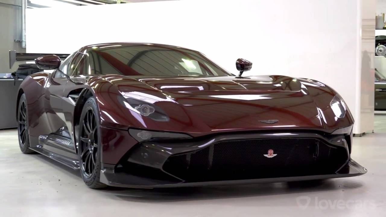 Road-legal Aston Martin Vulcan