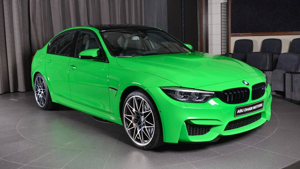 Verde Mantis Green BMW M3