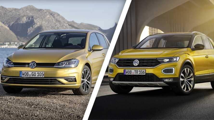Volkswagen T-Roc, è una minaccia per la Golf?