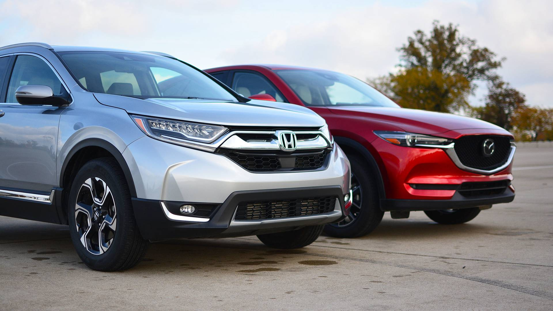 Honda CR V vs Mazda CX 5 The Head And The Heart SUVs