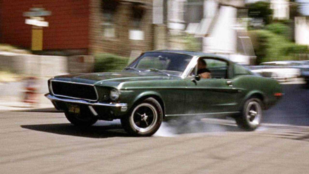 Mustang GT390 - San Franciscó-i zsaru