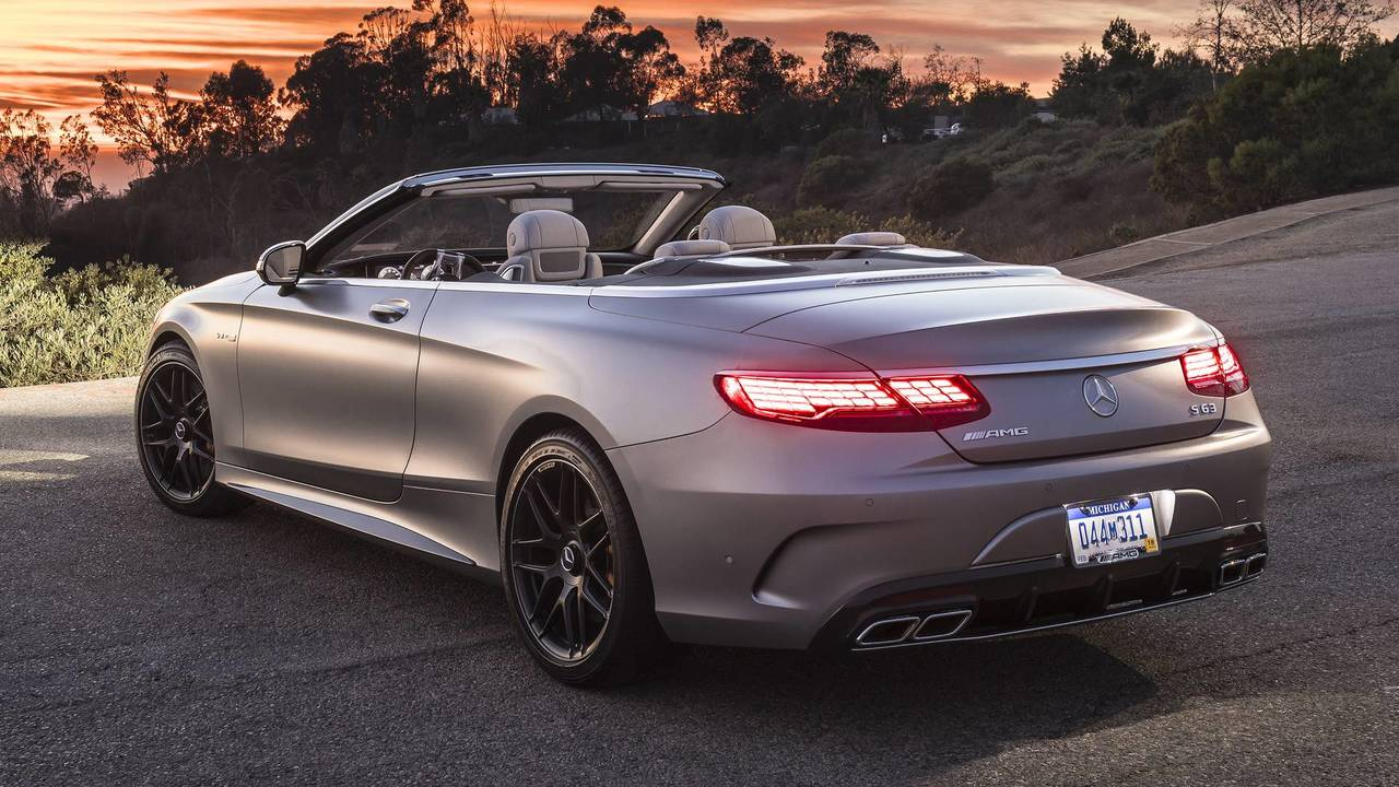 2018 Mercedes Amg S63 Cabriolet Review