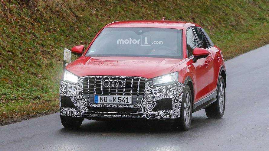 Audi SQ2 new spy images