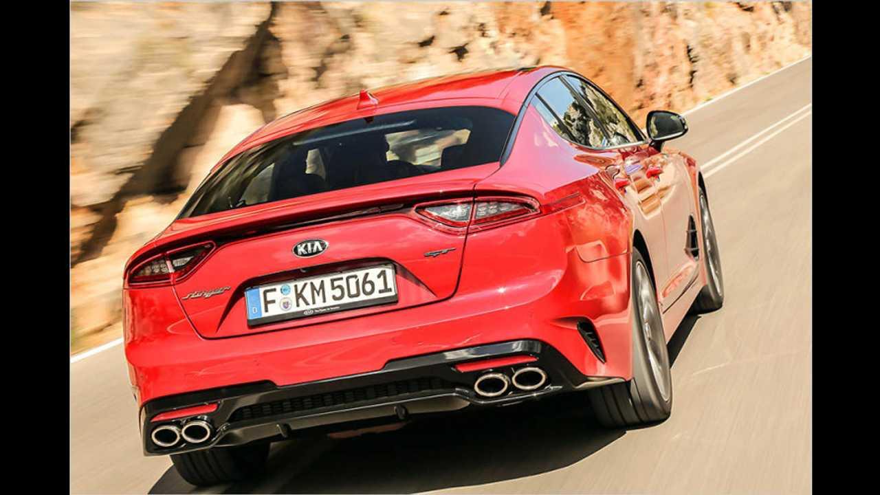 Sportauspuff für den Kia Stinger GT