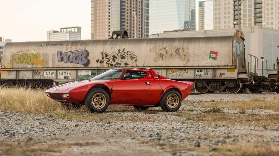 Çok az kullanılmış Lancia Stratos 475,000 $'a satıldı