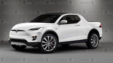Modern megjelenésű platót kap a Tesla első pickupja