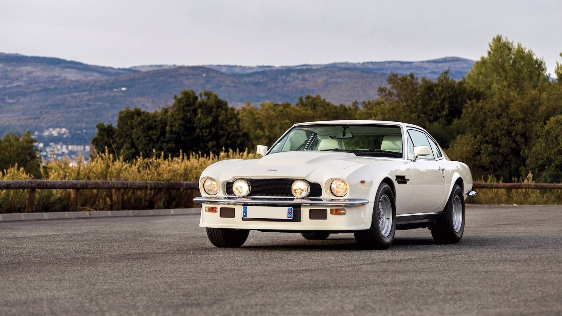 Auction Bound Aston Martin V8 Vantage Oscar India One Of Just 41