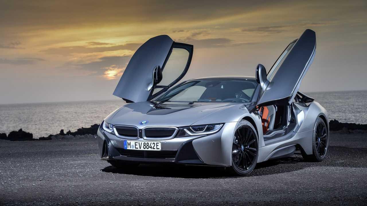 [Copertina] - BMW i8, al Salone di Los Angeles con piccole novità