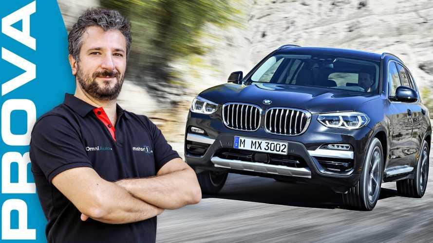 Nuova BMW X3, SUV medio alla riscossa