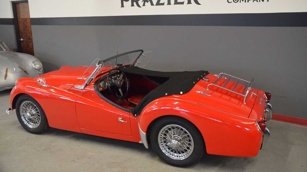 Enjoy The Open Road In This 1959 Triumph TR3