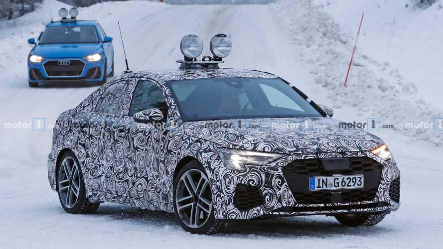 Nuove Audi A3 ed S3, foto spia sulla neve in versione quasi definitiva