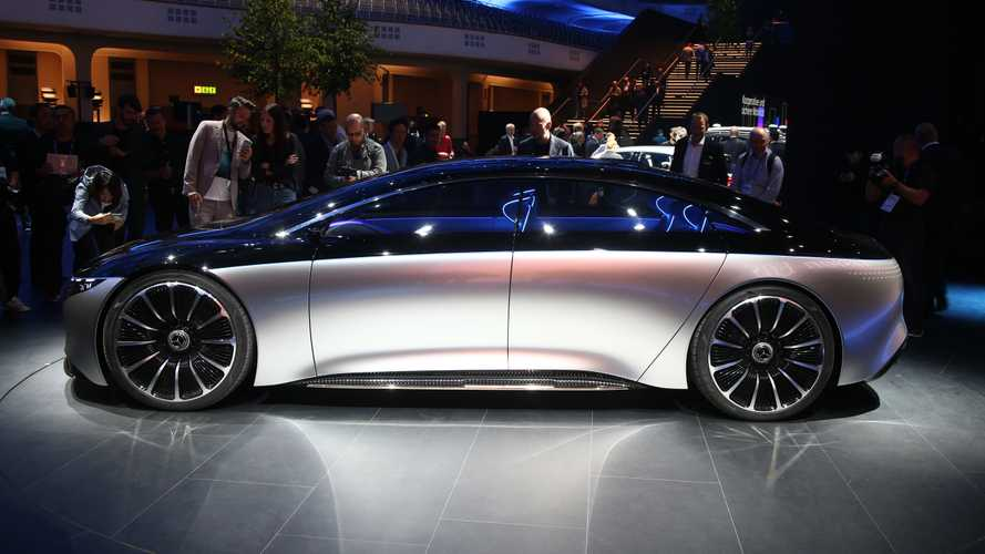 Mercedes-Benz Vision EQS concept revealed in Frankfurt