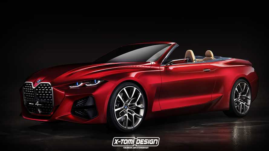 BMW Concept 4 Loses Roof In New Rendering