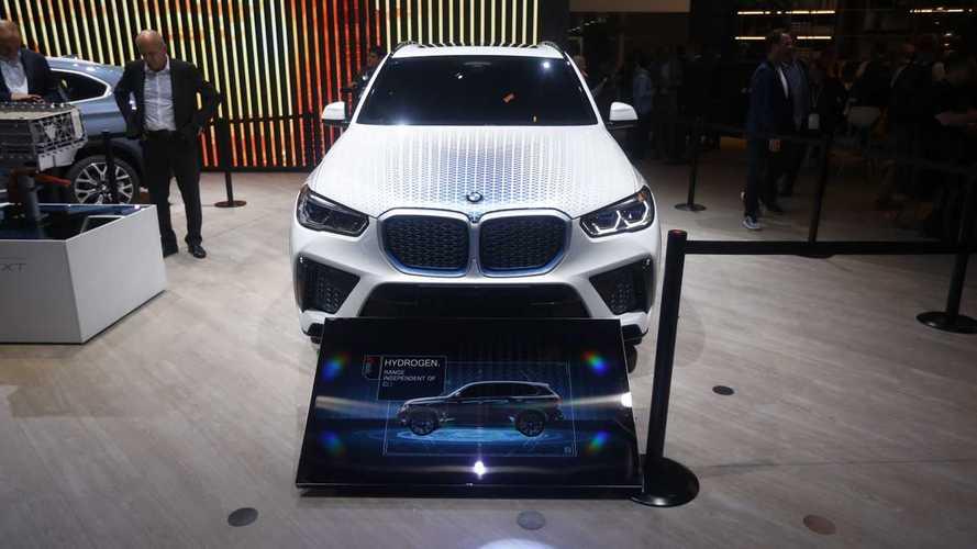 Gázüzemű X5-ösön dolgozik a BMW, később önálló hidrogénes modell jöhet