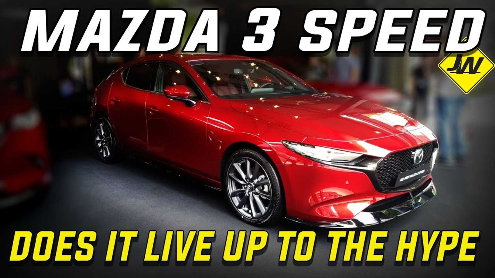 Mazda3 Speed is real and official, but it's not what you think