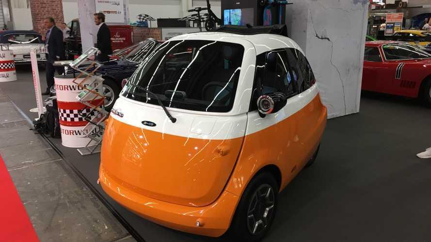 Электрокар в стиле BMW Isetta запускают в серию с крутыми фишками
