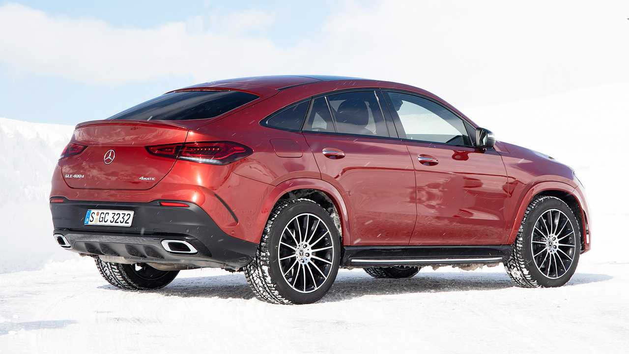 Nuova Mercedes GLE Coupé